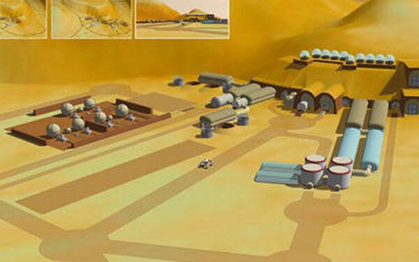 Sembrar en Marte