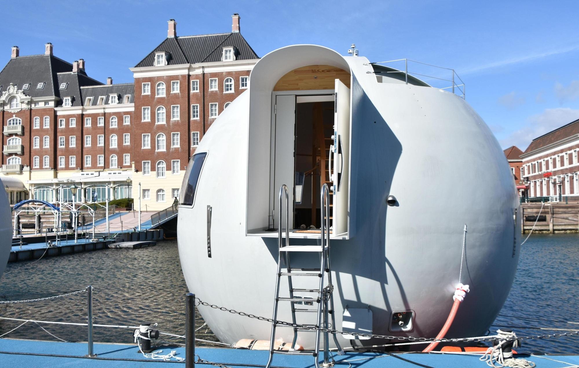 Si te mareas en el mar… mejor no subas a este hotel de Japón
