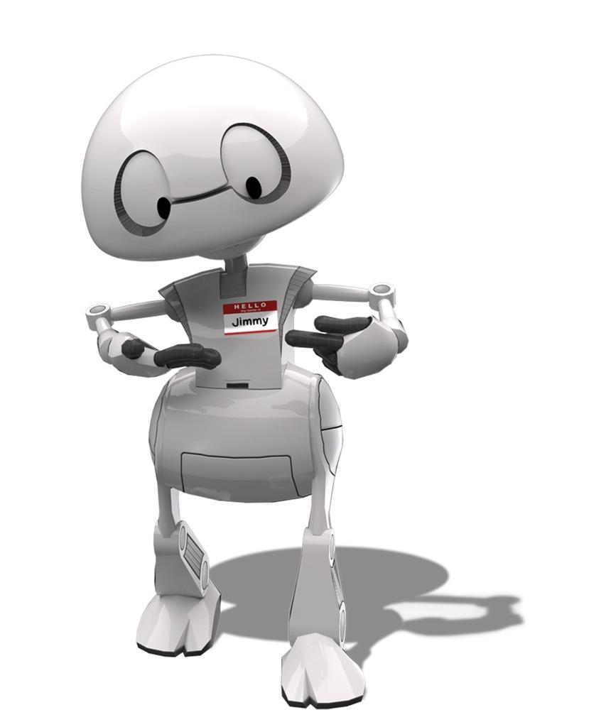 Soy Jimmy, el robot imprimible