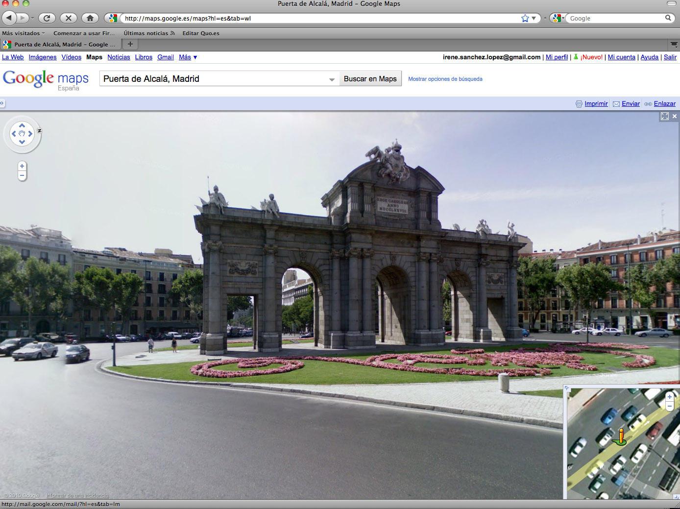 Street View a juicio