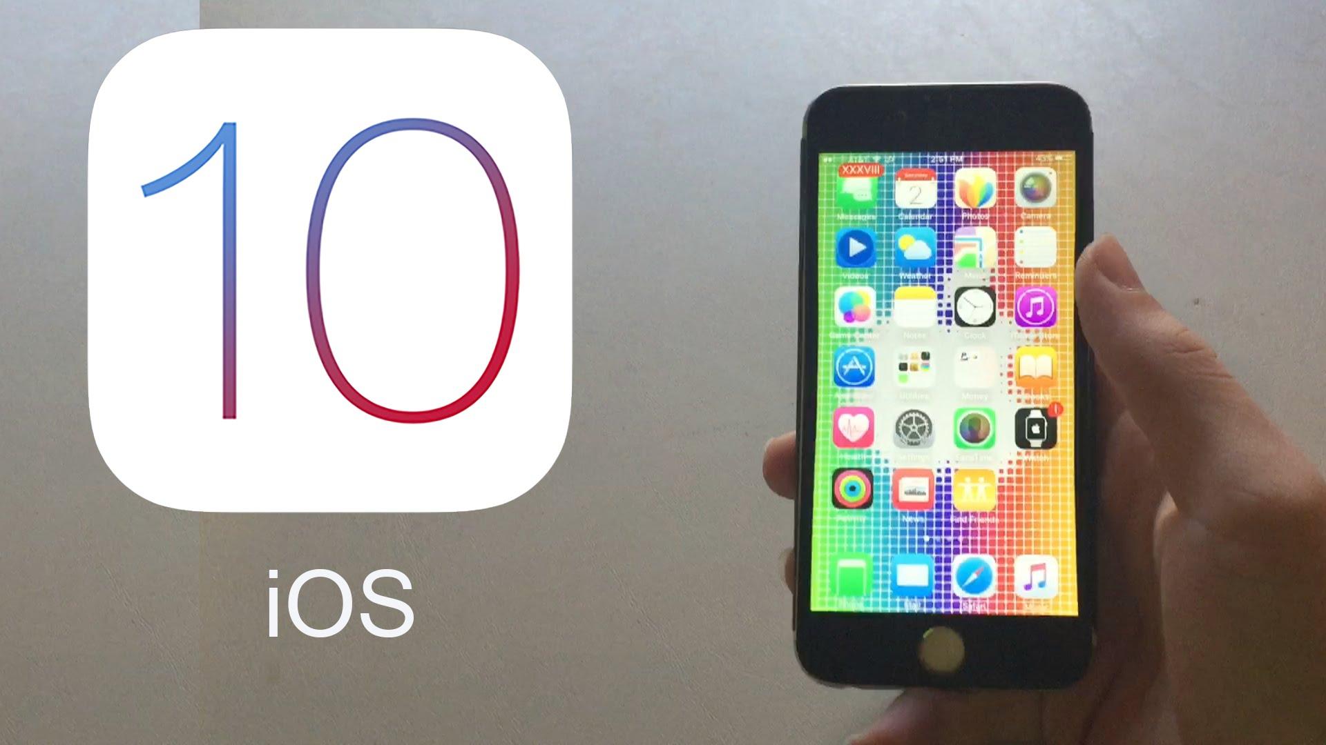 Todo lo que debes saber sobre iOS 10