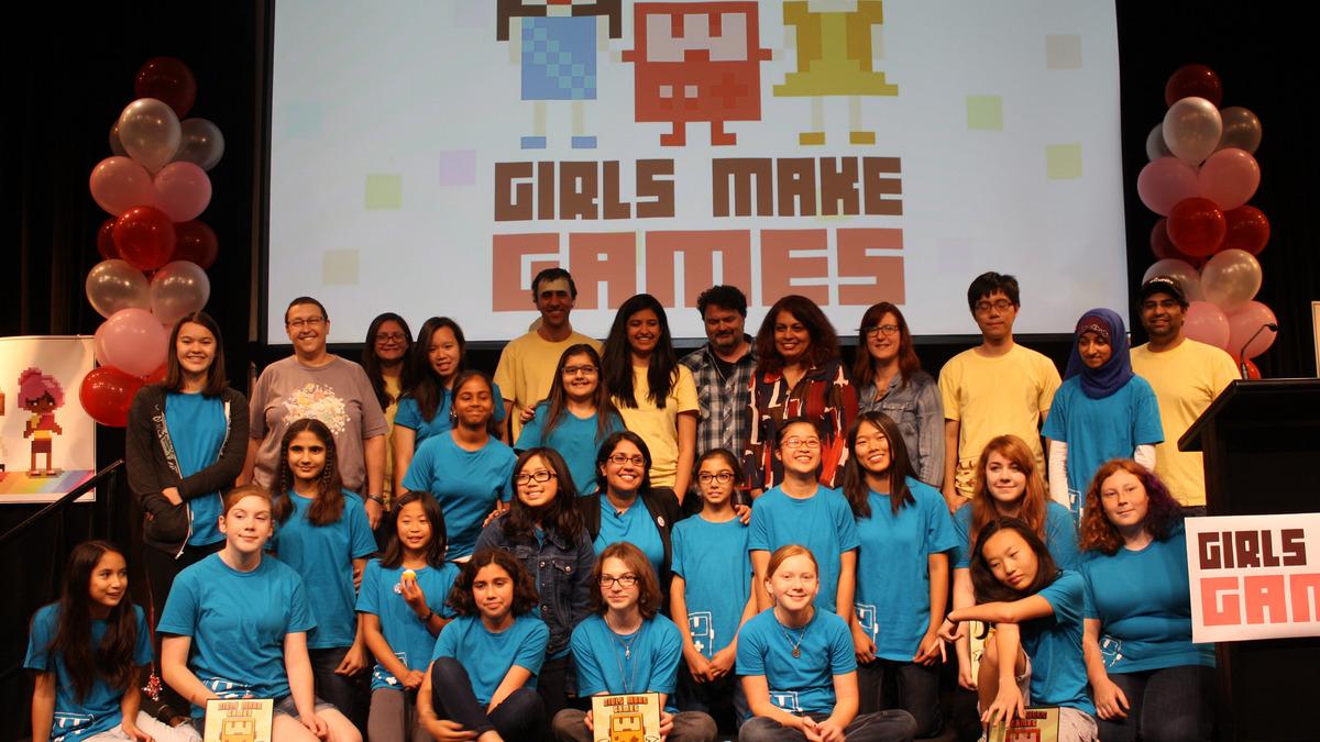 Un campamento de verano para animar a que las niñas desarrollen videojuegos