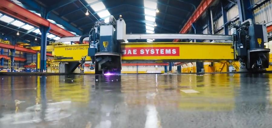 Un rayo de plasma para fabricar barcos