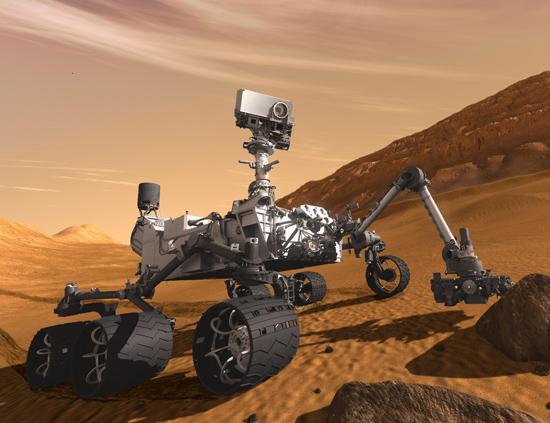Un español en Marte