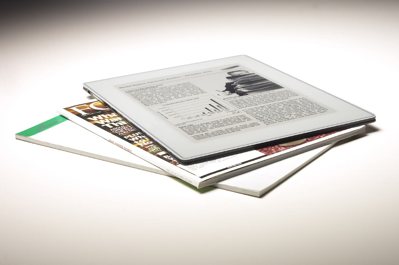 Un Kindle para periódicos