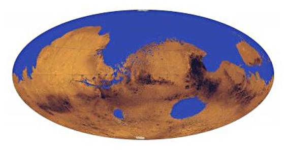 ¡Un océano en Marte!