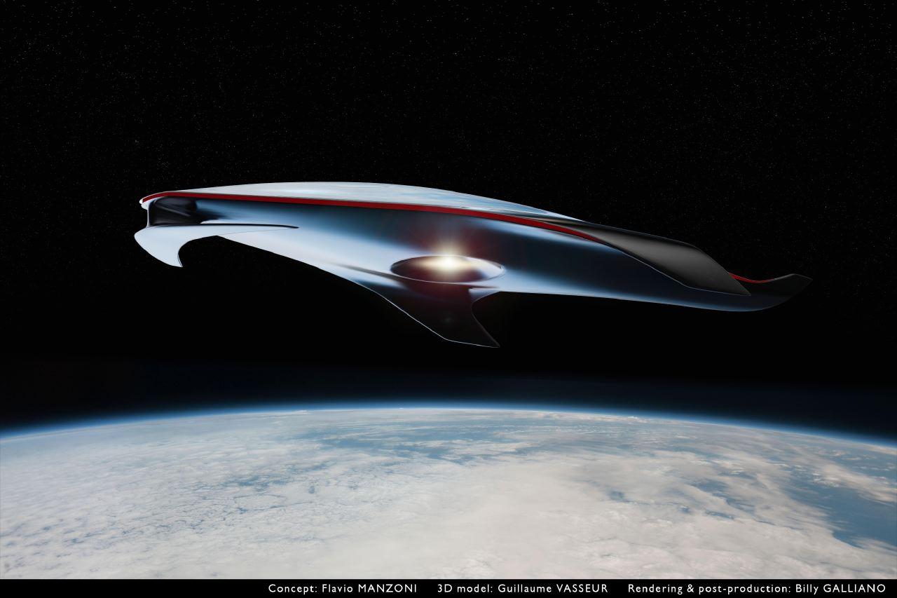 Una impresionante nave espacial con alma de Ferrari