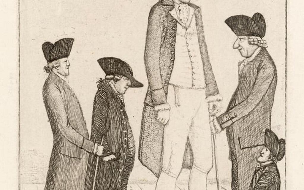 Van a cumplir el último deseo de un gigante irlandés del siglo XVIII