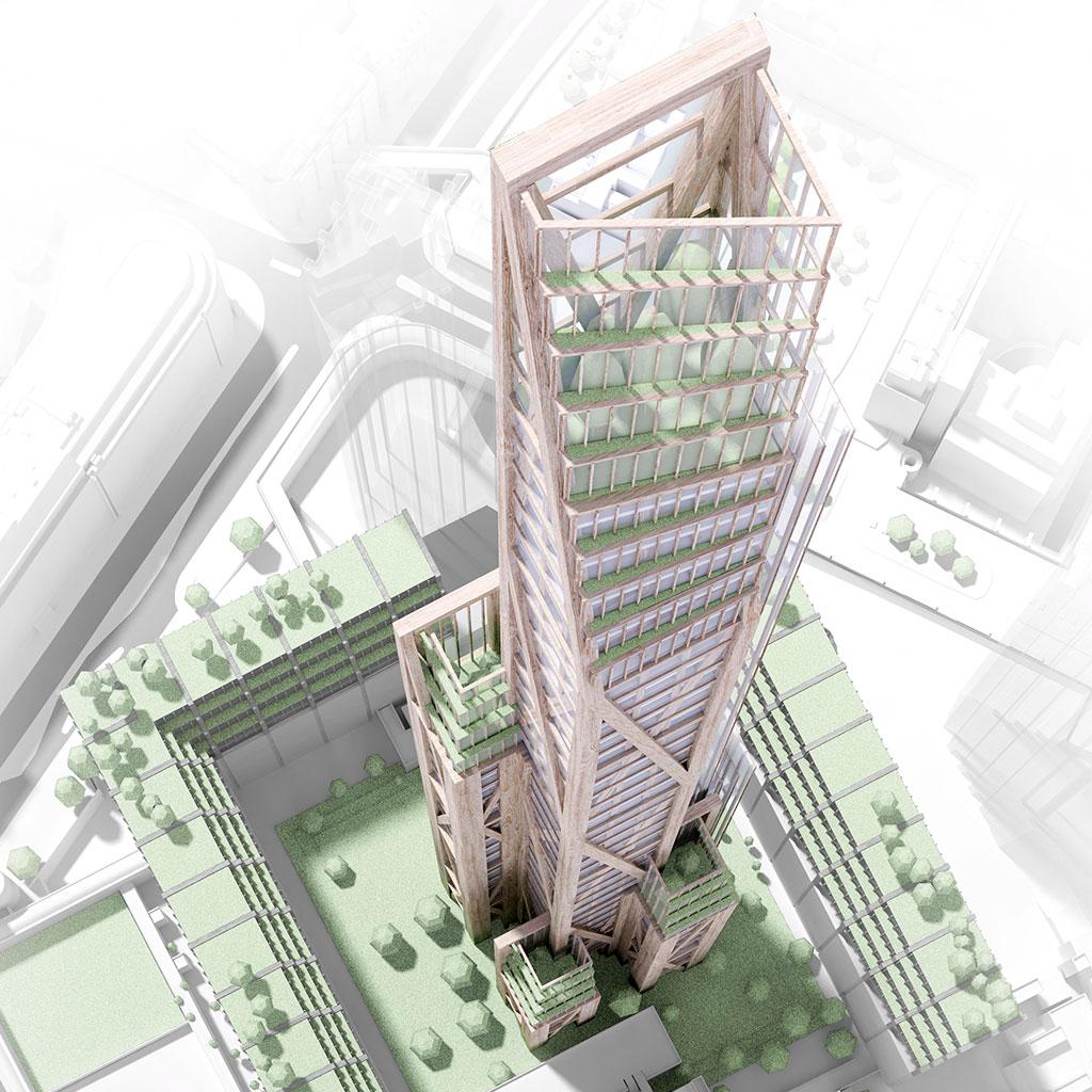 ¿Vivirías en un rascacielos de madera?