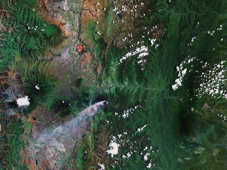 Nuevos volcanes en Ecuador