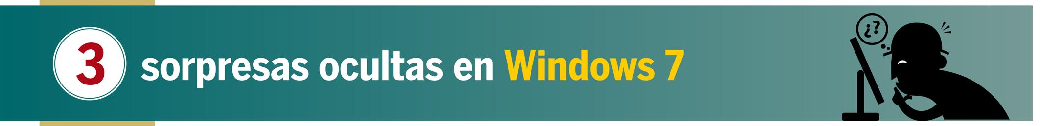 Windows 7: 3 trucos secretos