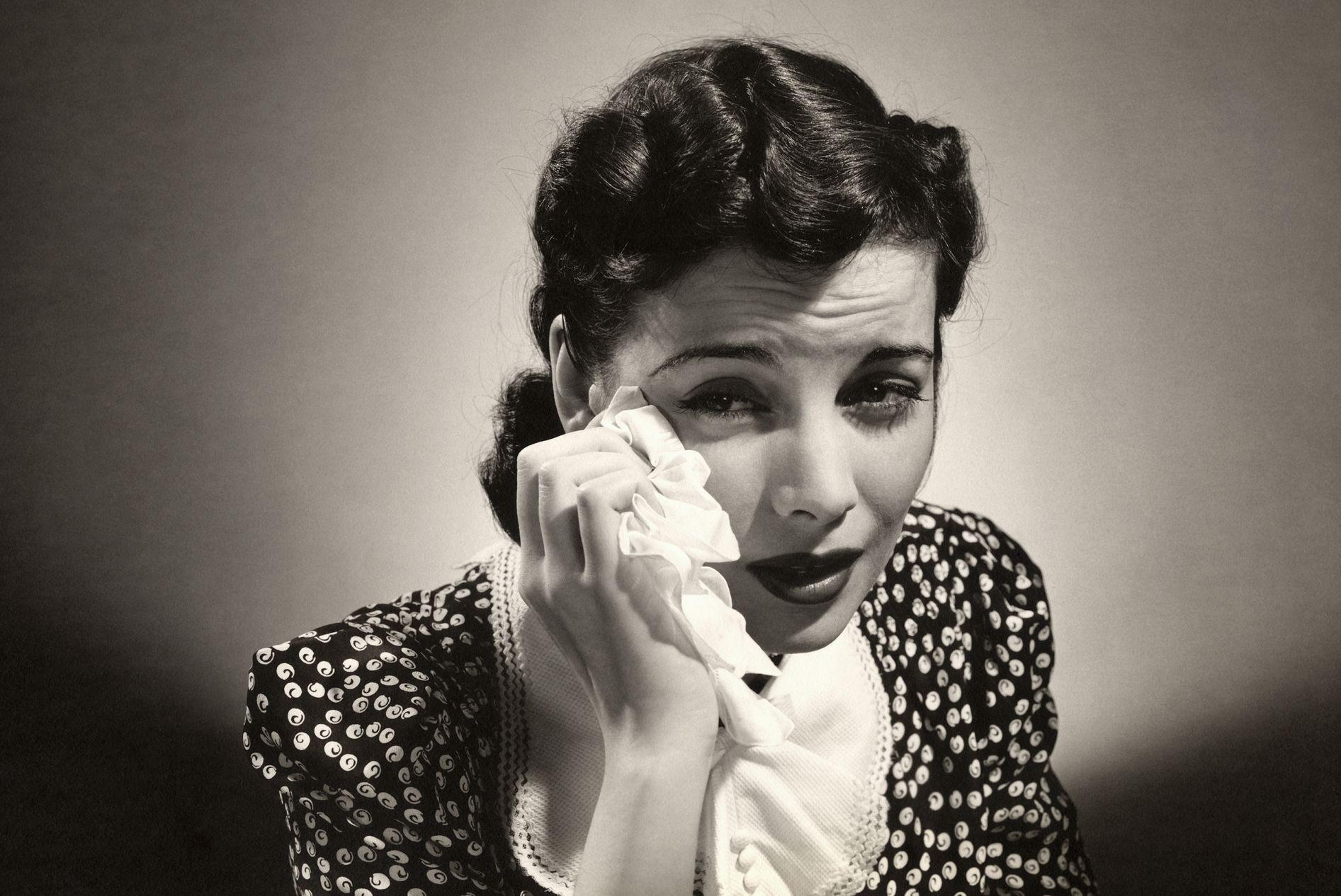 ¿Sabíais que llorar no excita sexualmente al hombre?