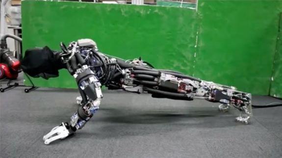 Un robot que suda como un animal. Nuevo avance en robótica