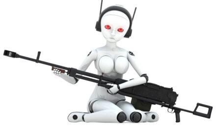 Una robot diseñada para matar malos pero, ¿quién es el malo?