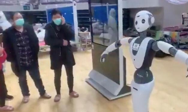 Hospitales robot en China para proteger a los sanitarios del coronavirus