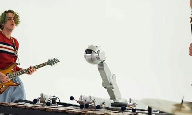 Shimon, el robot que compone y canta canciones