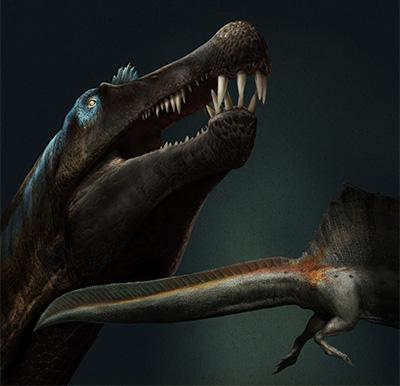 """Así era """"el equivalente en dinosaurio a Tiburón""""."""