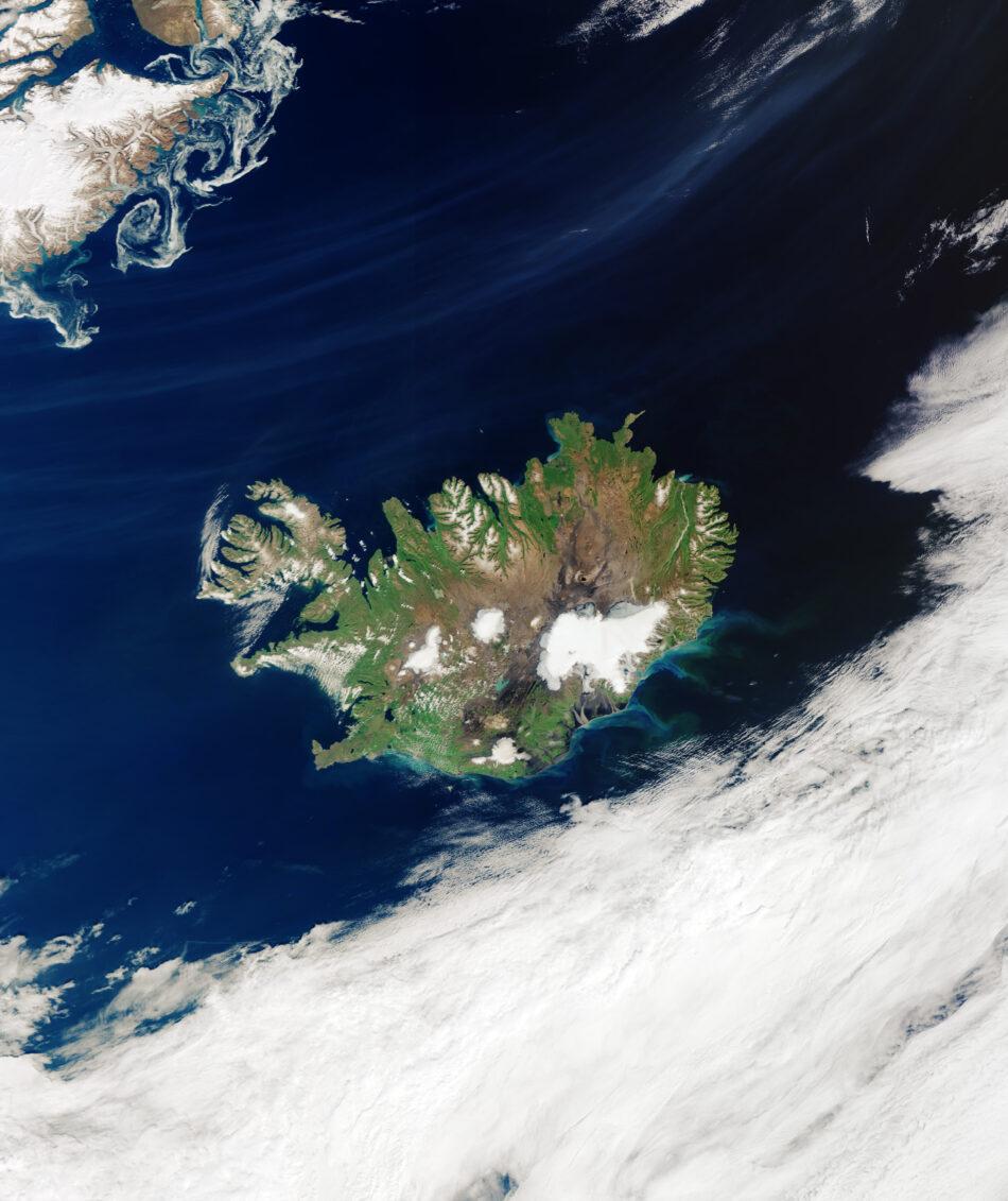 Islandia sin nubes