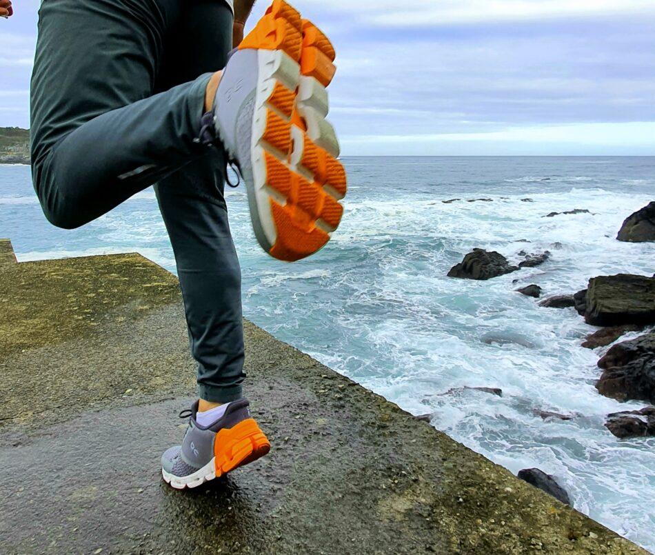 100 km: con Cloudflyer, de On Running