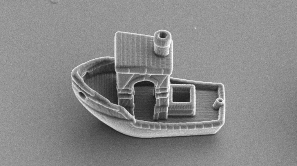 barco microscópico