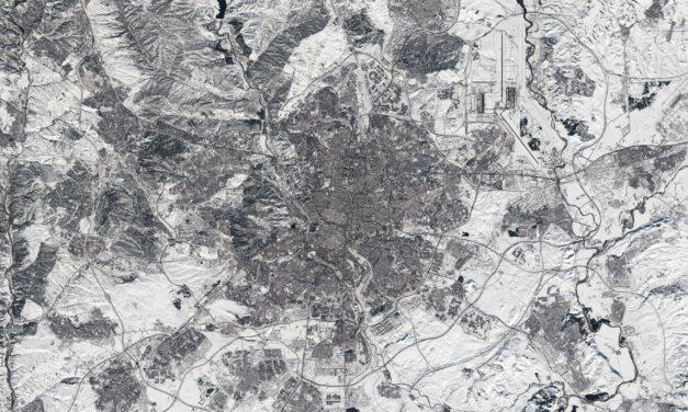 La gran nevada de Filomena sobre Madrid