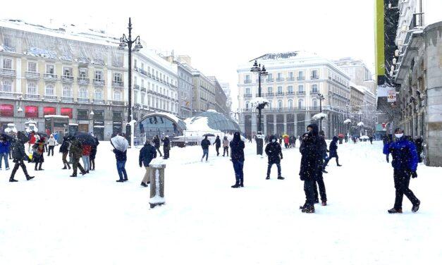 Por qué hay tormentas de nieve en medio del calentamiento global