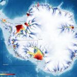 Tres glaciares de la Antártida aceleran un 44% su velocidad hacia el océano