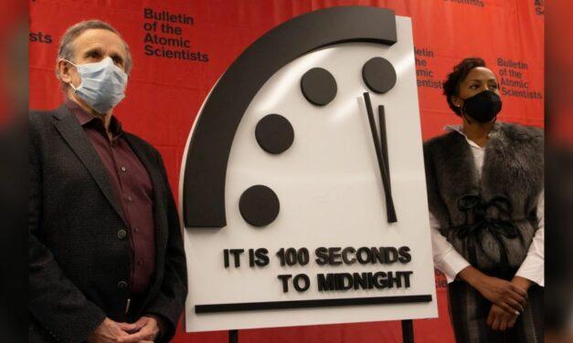 El Reloj del Juicio Final está a 100 segundos de medianoche, el fin del mundo