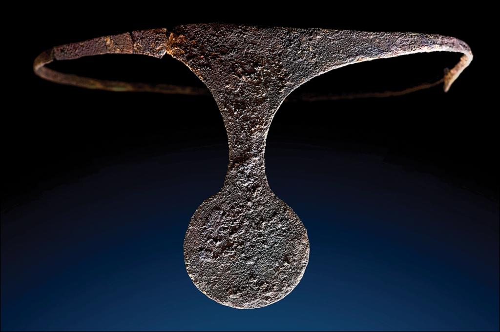 diadema de plata argárica