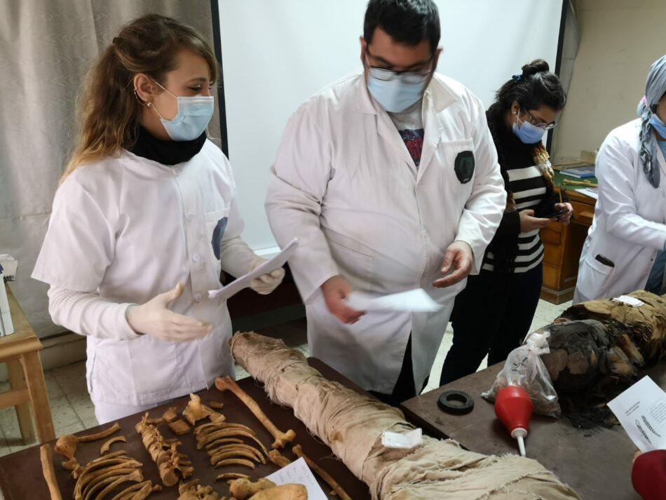 «Las momias se usaban como leña para las calderas», Ricardo Ortega