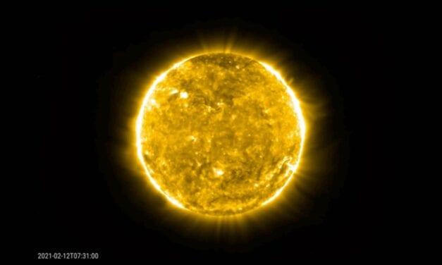 Espectacular llamarada solar captada por la Solar Orbiter