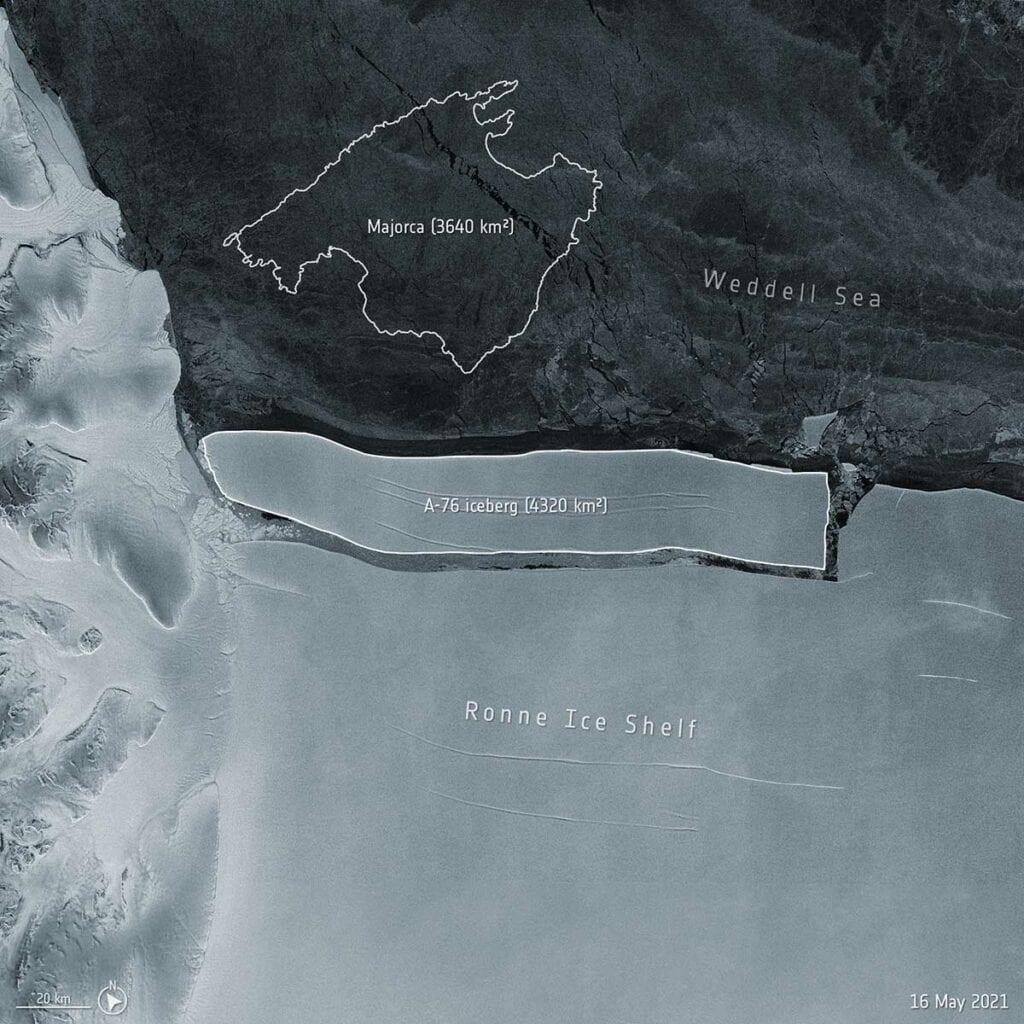 Iceberg en la Antartida