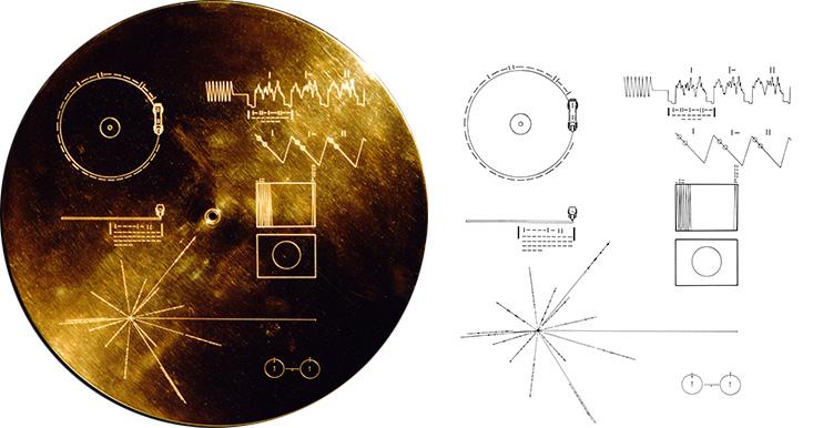 disco de oro Voyager