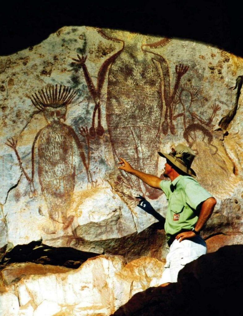 pintura rupestre en australia