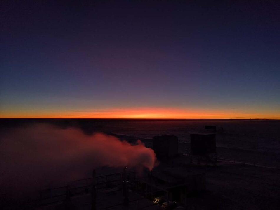 El Sol regresa a la Antártida tras seis meses de oscuridad