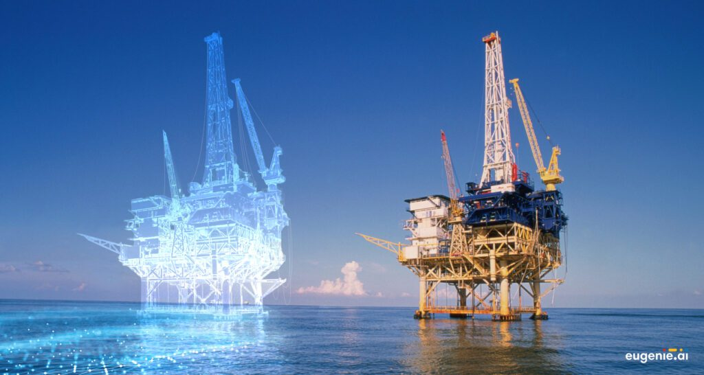 Gemelo digital de una plataforma petrolífera